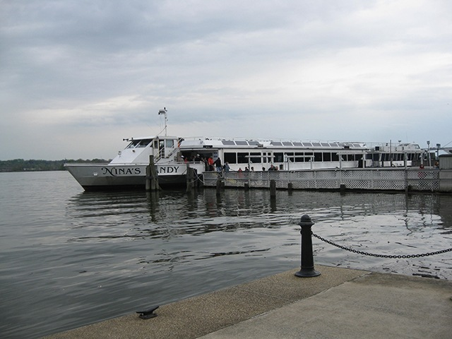This Bus Trip Included A Cruise On The Potomac River Ship Was Nina S Dandy Operated By Company Party Cruises