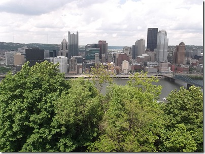 Pittsburgh Skyline With Trees