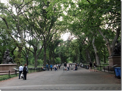 Central Park Literary Walk