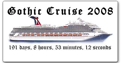 Gothic Cruise Countdown Widget